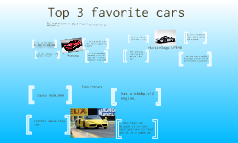 top 3 favorite cars