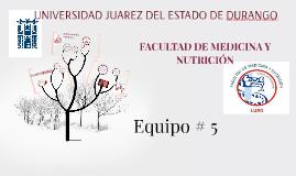 FACULTAD DE MEDICINA Y NUTRICIÓN