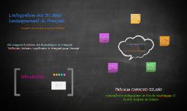 L`intégration des TICE à l'enseignement du FLE