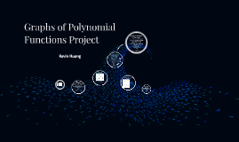 Graphs of Polynomial Functions Project
