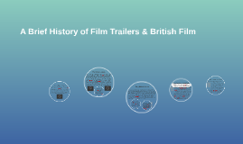 A Brief History of Film Trailers & British Film