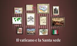 Il vaticano e la Santa sede
