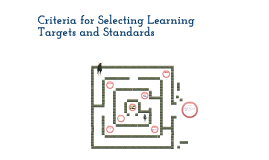 Copy of Criteria for Selecting Learning Targets and Standards