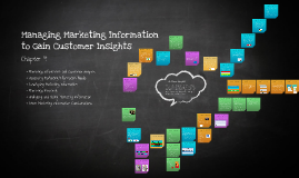 Chapter 4: Managing Marketing Information to Gain Customer Insights