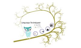 Thai-riffic: Language Techniques