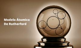 Modelo Atomico De Rutherford