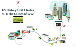 USH Unit 4 Notes pt. 1: The Causes of WWI