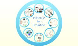 AP Bio- Evolution 3:  Evidence of Evolution