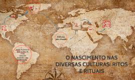 Copy of O NASCIMENTO NAS DIVERSAS CULTURAS: RITOS E RITUAIS