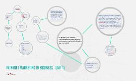 Internet Marketing in Business Unit 12 - P5