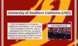 USC Tour