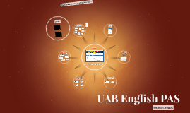 UAB English PAS