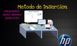 Metodo de Inserción