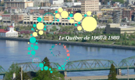Le Québec de 1960 à 1980