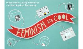 Early Feminism