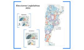 Elecciones legislativas 2013