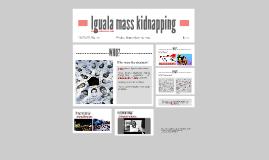 Iguala mass kidnapping