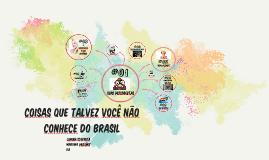 coisas que você não conhece do Brasil