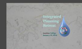 Integrated Planning Retreat