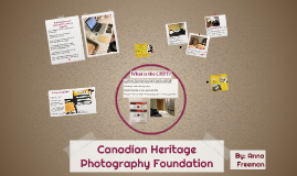Canadian Heritage Photography Foundation