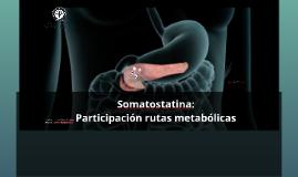 Somatostatina como regulador de glicemia