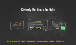 Porfolio of Kimberly Martinez