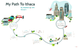My Path To Ithaca