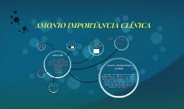 AMONIO IMPORTANCIA CLÍNICA
