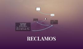 RECLAMOS