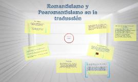 Romanticismo y la traducción