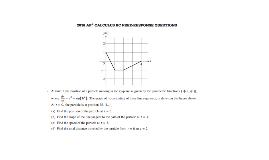 Parametric AP Calculus FRQ 2016