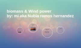 biomass and wind power