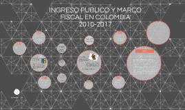 INGRESO PUBLICO Y MARCO FISCAL EN COLOMBIA 2010-2017