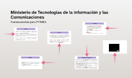Ministerio de Tecnologías de la información y las Comunicaci