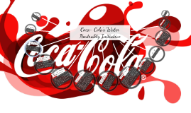 coca colas water neutrality initiative Coca-cola to reach water goal five years early the senior director of global water stewardship at the coca-cola company, greg koch, said the ambition and scale of coca-cola's goal helped make it a success you incentivize people.