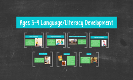 Age to 3-4 Language/Literacy Development