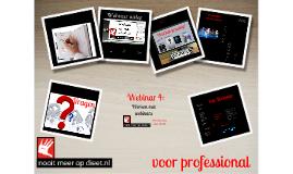 4 Werken met webinars