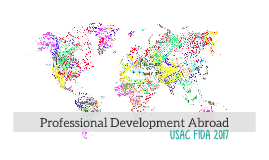 Professional Development Abroad