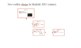 New coffee shops in Madrid, XIX Century.