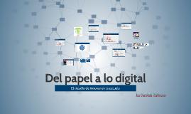 Del papel a lo digital: El desafío de innovar en la escuela