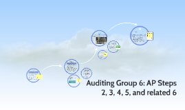 Auditing Group 6: AP Steps 2, 3, 4, 5, and related 6