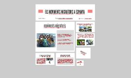 ELS MOVIMENTS MIGRATORIS A ESPANYA