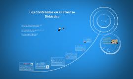 Copy of Los Contenidos en el Proceso Didáctico