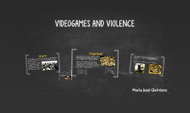 VIDEOGAMES AND VIOLENCE