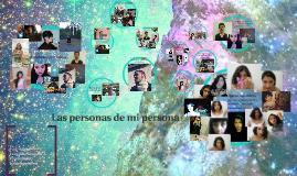 Las personas de mi persona