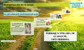 Evangelización en lo social