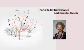 Copy of Teoría de las transiciones