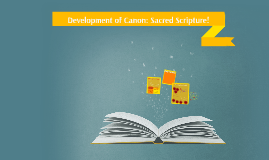 History of Canon: Sacred Scripture