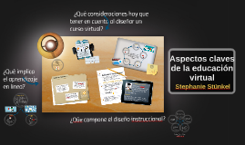 ASPECTOS CLAVES DE LA EDUCACIÓN VIRTUAL