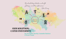 INTRODUCING CATER UniVERSITY